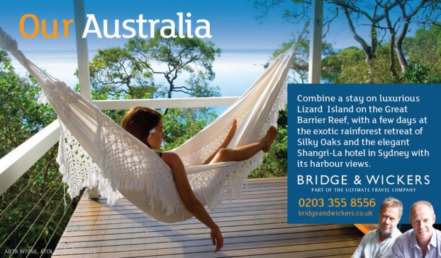 Bridge & Wickers Australian Resorts Advertisement